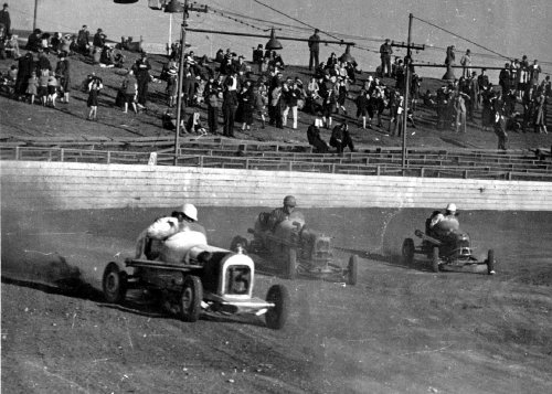 Frank Burany - Hall of Fame Midget Race Car Driver -